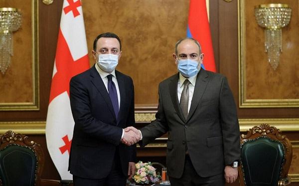 Ираклий Гарибашвили встретился с Николом Пашиняном в Ереване