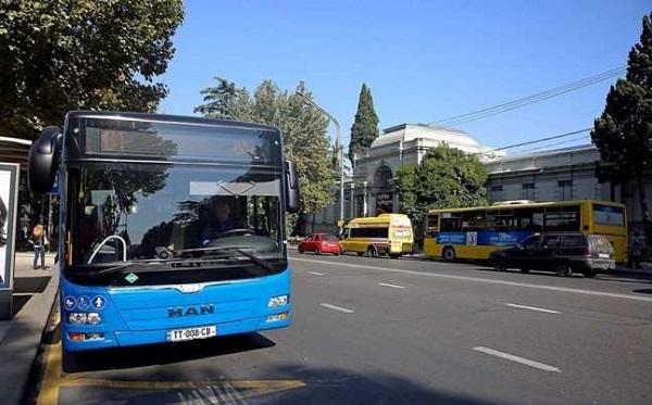 Муниципальный транспорт в Грузии запустят с 8 февраля