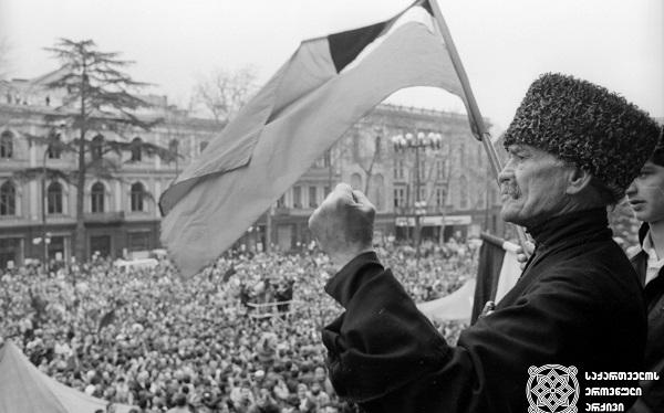 В Грузии отмечают День принятия акта о независимости