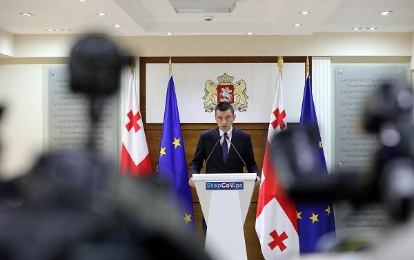 Акции запрещать не будем – премьер Грузии о протестах оппозиции