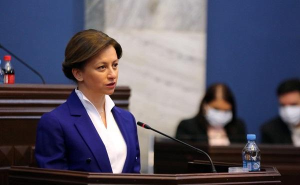 Екатерина Тикарадзе - Государство продолжает в непрерывном режиме работать над обеспечением населения вакцинами