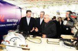 Мэр Тбилиси осмотрел выставку строительной техники BOSCH