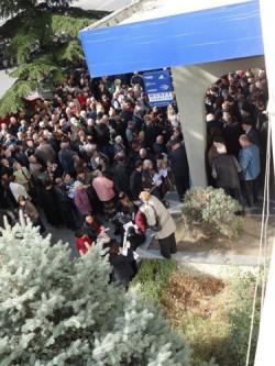 В «Банке Карту» Бидзины Иванишвили проходят выборы президента Грузии