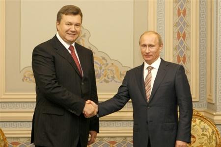 Виктор Янукович встретится сегодня с Владимиром Путиным