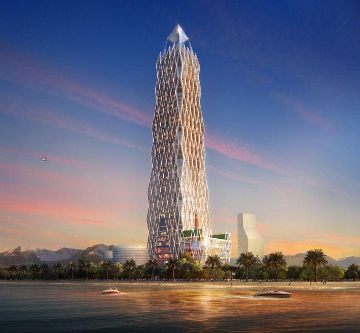 Три грандиозные гостиницы будут построены в Батуми