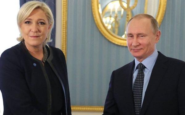 «Безумная подруга» Путина Марин Ле Пен не может погасить российский долг