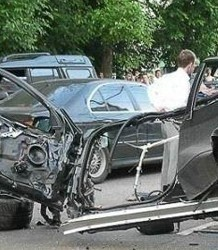 Две девушки погибли во время аварии в Западной Грузии