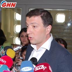Мэр Тбилиси встретился президентом ОК Сербии
