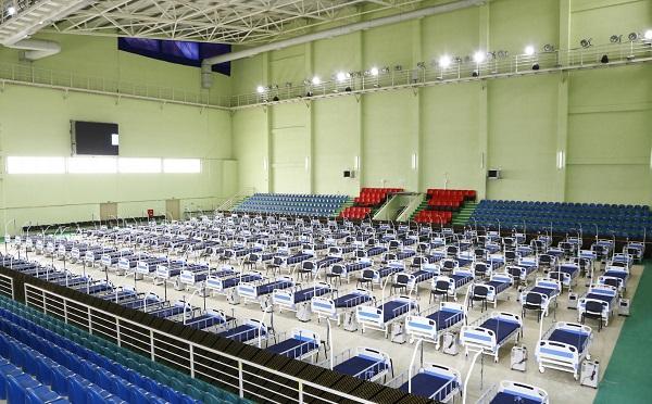 Полевой госпиталь в Олимпийской деревне в Дигоми будет обслуживать до 500 пациентов