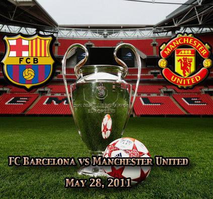 «Уэмбли» готовится к финальному поединку Лиги чемпионов между «Барселоной» И «Манчестер Юнайтед»