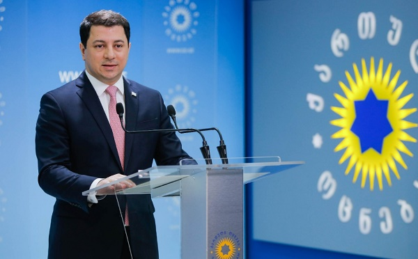 Арчил Талаквадзе обращается к послам