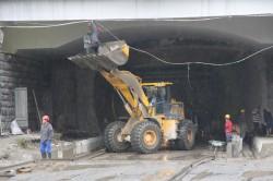 Президент Грузии открыл обновленный тоннель на Рикотском перевале
