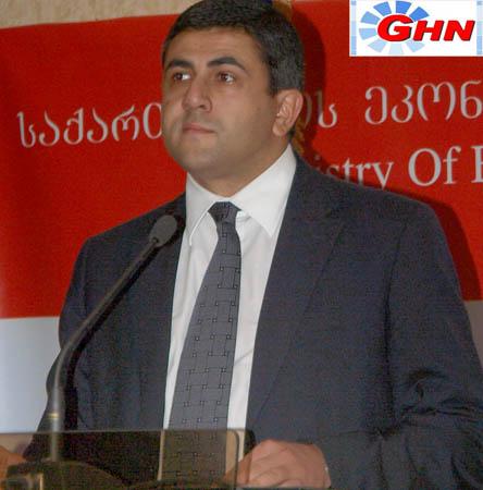 Министр экономического развития Грузии проведет прием