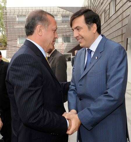 Премьер-министр Турции поблагодарил президента Грузии
