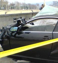 Один человек погиб при ДТП на правой набережной Куры в Тбилиси