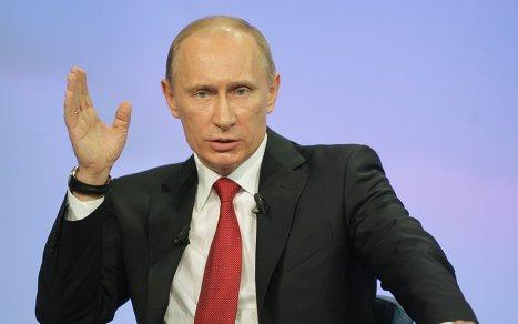 Рейтинг президента Владимира Путина начал снижаться