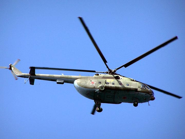 Российские вертолеты Ми-8 вторглись в воздушное пространство Грузии