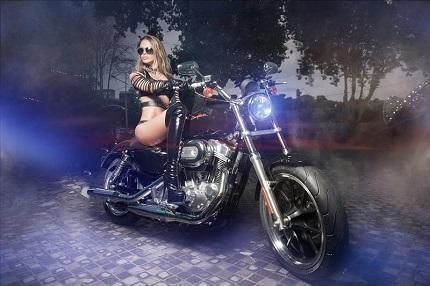 В конце октября казино «Шангри Ла» разыграет мотоцикл «Харли Дэвидсон»