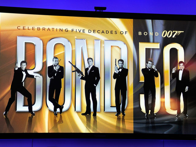 В США отметили 50-летие Джеймса Бонда