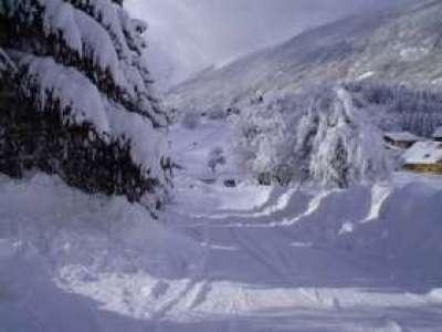 Снегопад продолжается в высокогорной Грузии