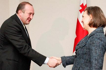 Виктория Нуланд и Георгий Маргвелашвили обсудили перспективы углубления отношений Грузии и США