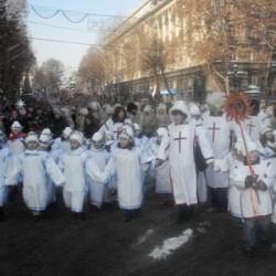 По улицам Тбилиси пройдет Рождественское шествие Алило