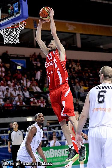 Сборные Грузии и Болгарии по баскетболу встретятся в рамках Чемпионата Европы