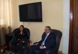 Министр экономики Грузии посещает Армению
